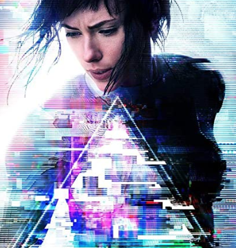 Ghost in the Shell move 2017 poster